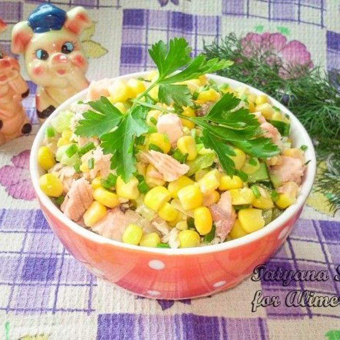 Быстрые салаты и закуски с фото