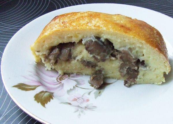 картофельный рулет с грибами в духовке рецепты
