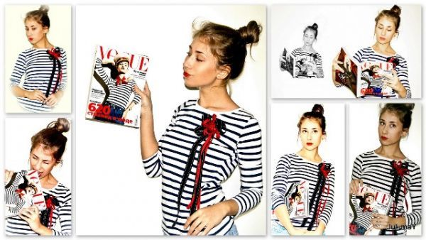 Милая фэшн-блоггерша Юлия Баранова