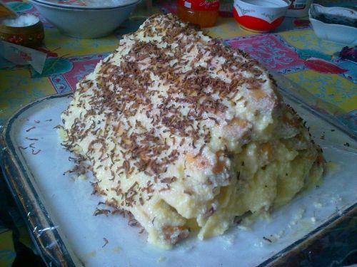 торт-горка
