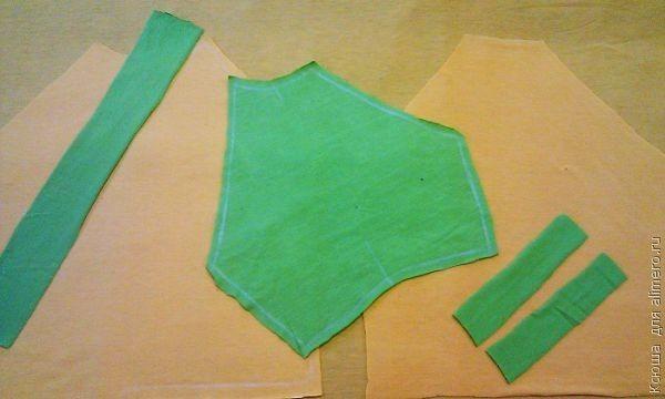 Как сделать выкройку детских штанишек фото 176