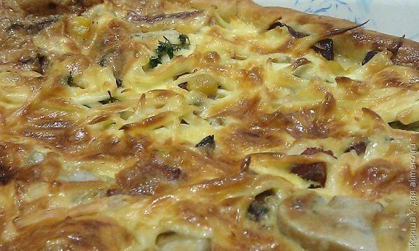 Рецепт Пиццы На Майонезе