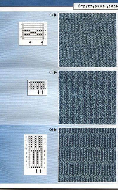 Схема шарфа мужского крючком
