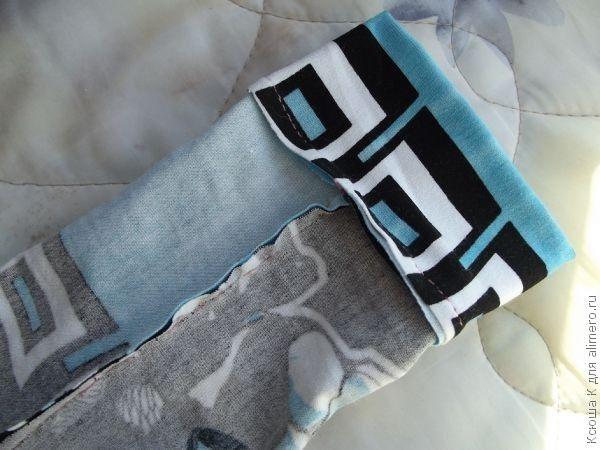 Уроки шитья. Носочки из трикотажа B826c6_wmark