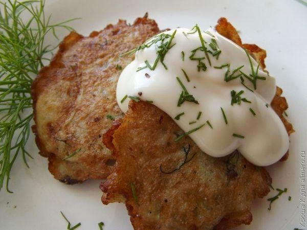 Луковые котлеты рецепт с манкой и картошкой
