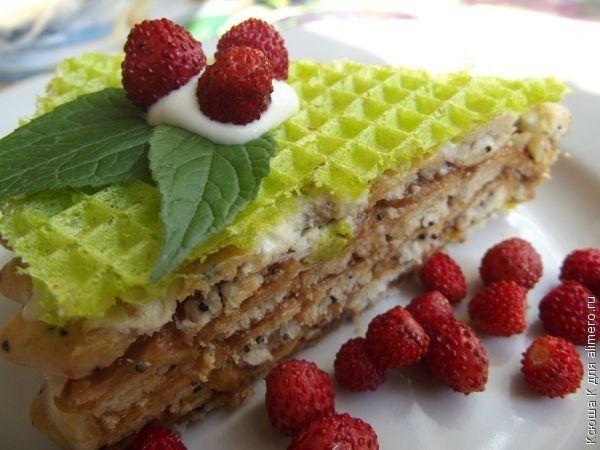 маковый торт без выпечки