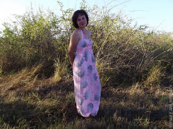шьем пляжный сарафан