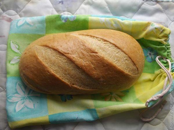 делаем кулиску - мешочек для хлеба