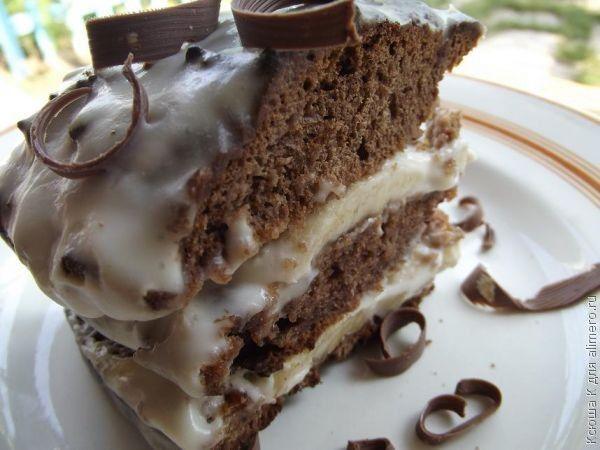 Шоколадный торт рецепты с фото