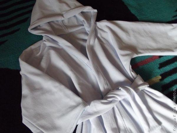 детский <em>капюшоном</em> банный халат