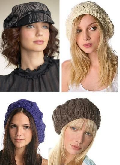 Французский берет наиболее любимый вид вязаной шапки, который наполняет образ романтическим настроением.