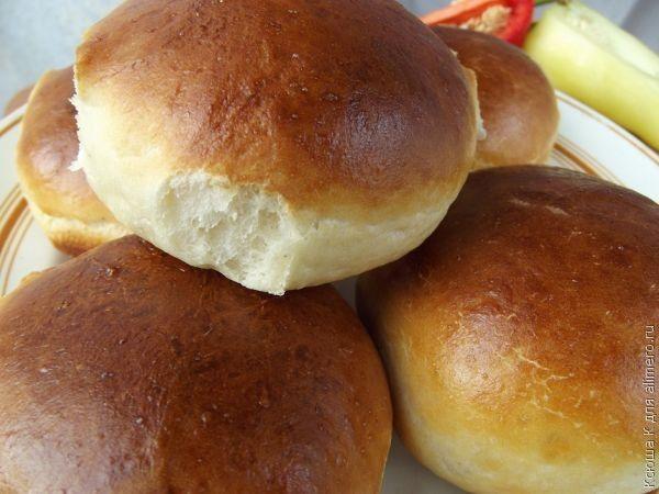 Рецепты булочек для гамбургеров для с фото