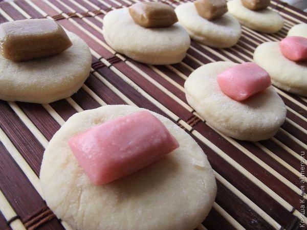 пирожки с конфетками