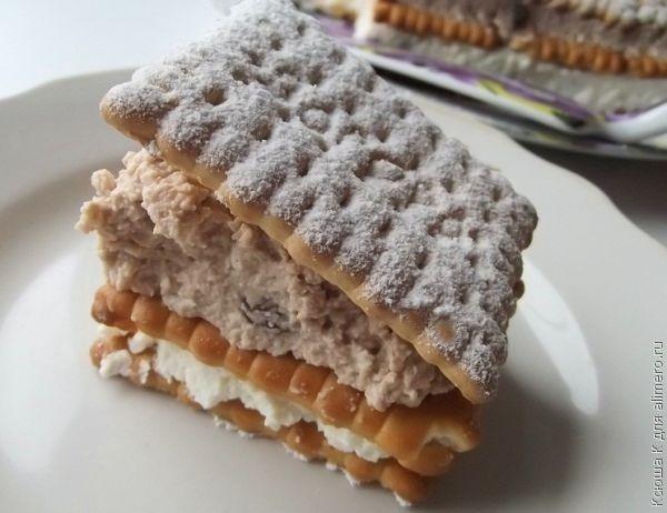 Торт из клубники, рецепт с фото пошагово без выпечки ...