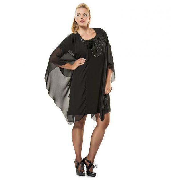 Легкое воздушное маленькое черное платье скроет все недостатки вашей фигуры. Ножки для такой одежды должны быть достоинством вашей фигуры.