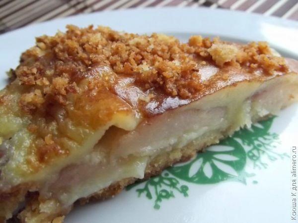 грушевый пирог рецепт