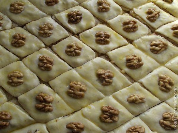 азербайджанская кухня пахлава