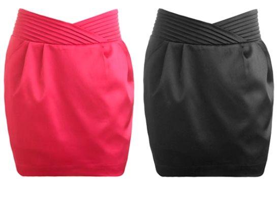 Так можно смоделировать юбку тюльпан, имея под рукой начальную выкройку этой юбки.