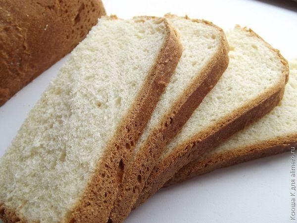 Простой пшеничный хлеб в хлебопечке / Рецепты с фото