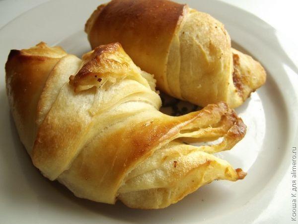 рецепт круассанов в хлебопечке