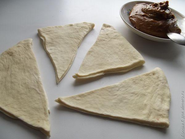 круассаны в хлебопечке