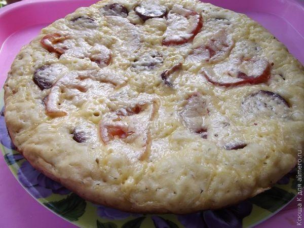 простые рецепты пицца на сковороде