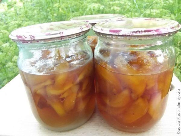 варенье из персика