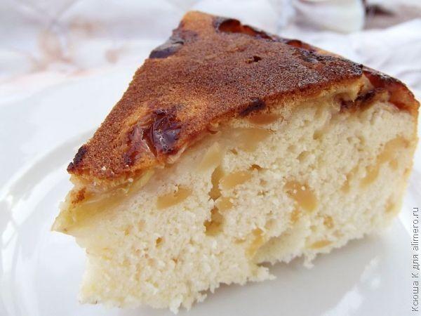 рецепт быстрого приготовления яблочного пирога