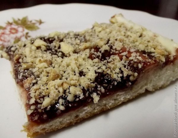 Рецепт пирога с вареньем / рецепт с фото 81