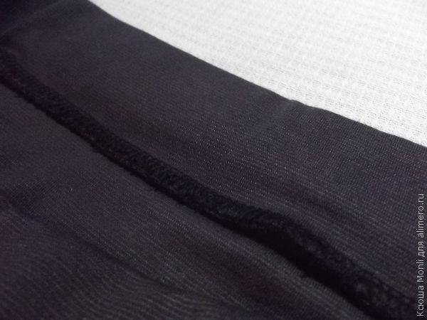 трикотажная юбка-карандаш