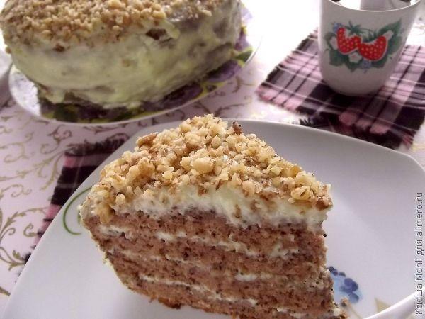 крем для бисквитного торта
