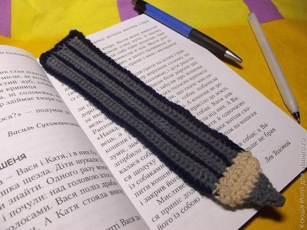 закладка для книг крючком