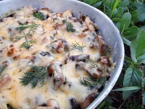 Жюльен из лесных грибов рецепт