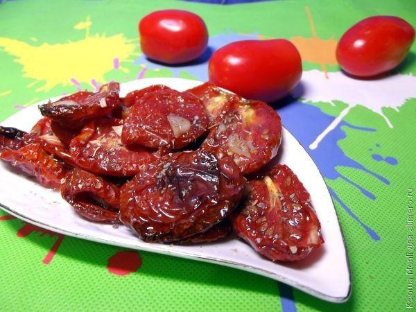 вяленые томаты с орегано