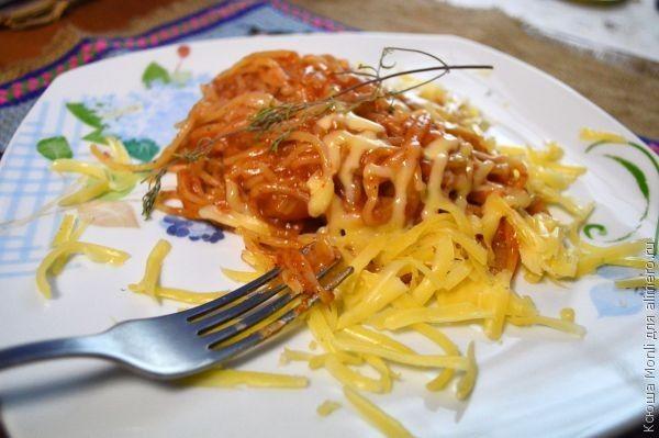 паста болоньезе с грибами рецепт с фото