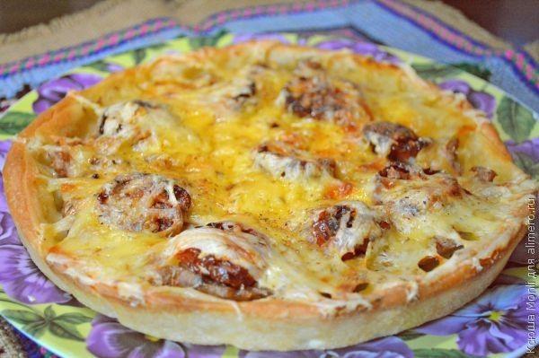 пицца с фаршем рецепт