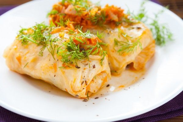 Постные голубцы можно приготовить с рисом, грибами, пшеном или картошкой.