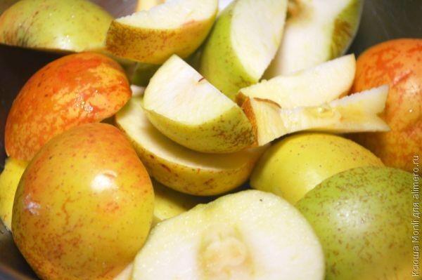 шифоновый яблочный пай