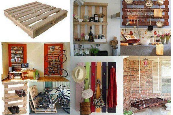 Мебель из поддонов – прекрасный способ креативно обустроить загородный дом или дачу.