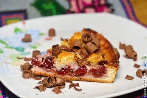 вишневая пицца
