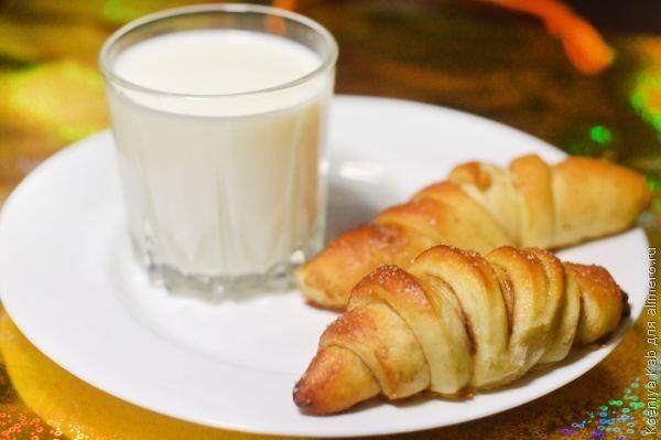 рецепт сахарные рогалики