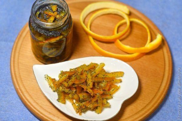 апельсиновые корки рецепт