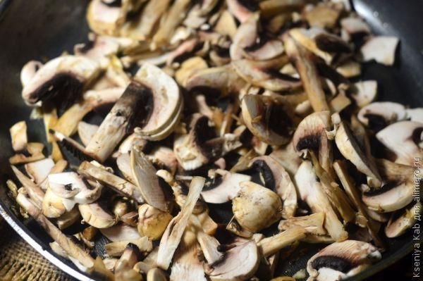 грибные оладьи