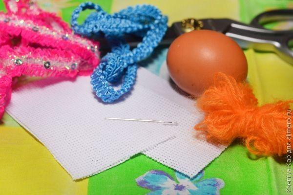 пасхальный яйца с вышивкой