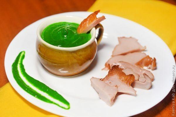 шпинатный соус рецепт