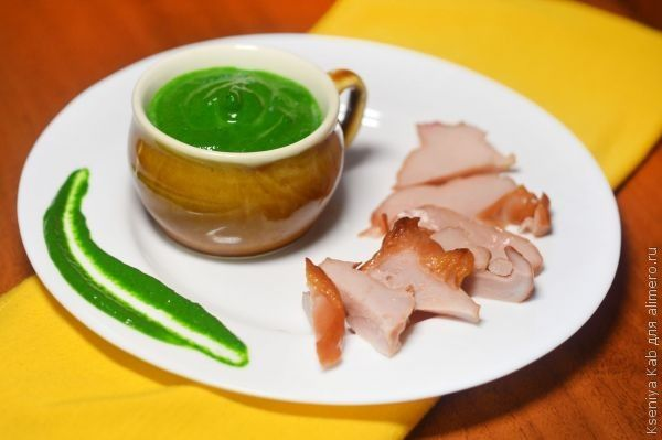 шпинатный соус