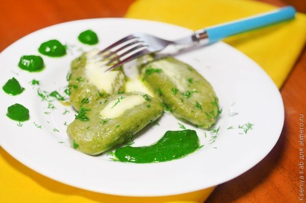 блюда из шпината