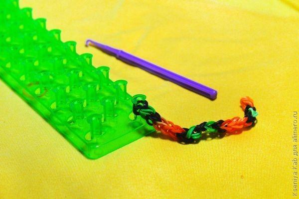 Как на рагатке сделать змею