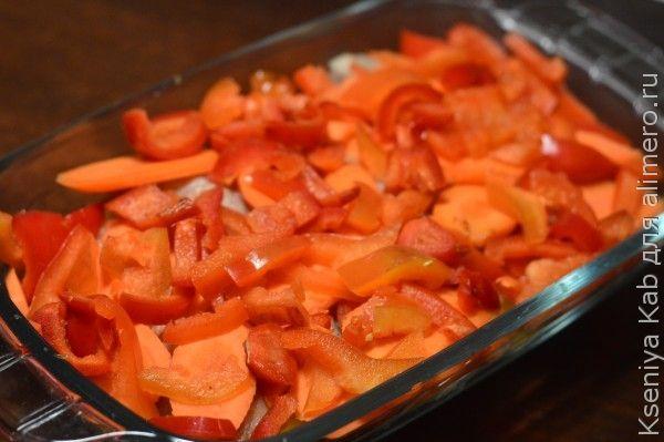 рецепты приготовления морского окуня с овощами