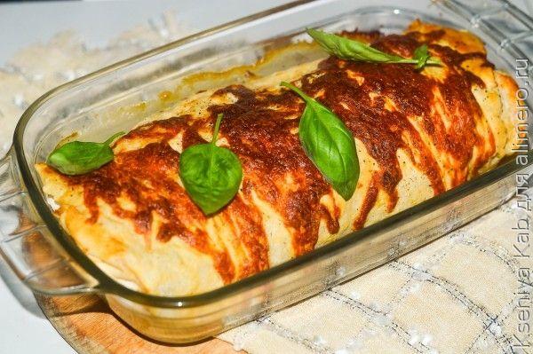 Блюда из фарша Лаваш с начинкой рецепты с фото на
